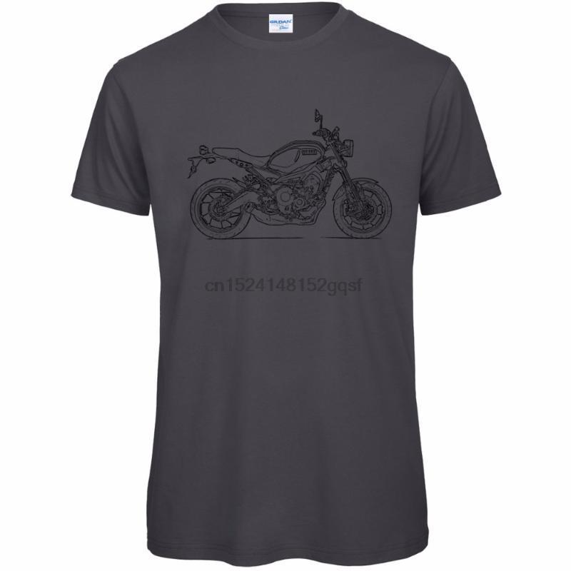 Yeni 2020 T Gömlek Erkekler Tshirt Özel Baskılı Tişörtleri XSR900 2020 Erkekler Motosiklet T-Shirt - Yeni Logo Tişörtler