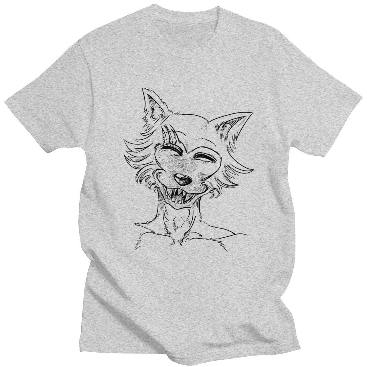 Divertente Beastars T-shirt per uomo cotone Tshirt Anime Animal Lupo Coniglio Furry Manga Short Sleeve Tee Shirt Graphic Tops Merch regalo