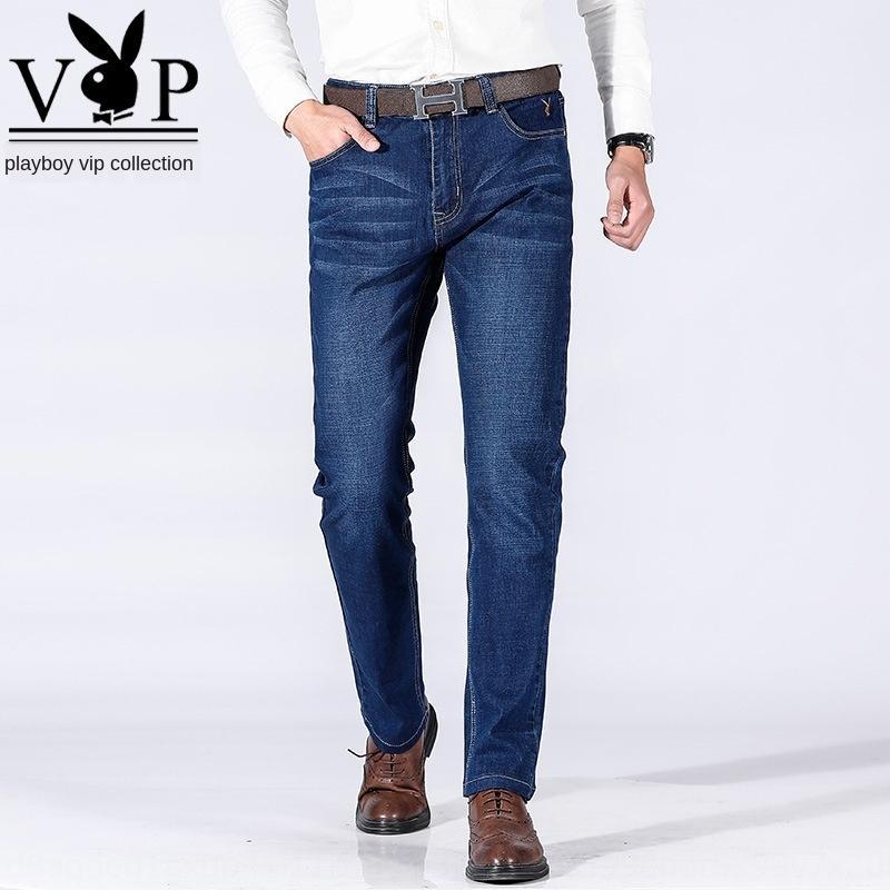 attXE VIP 2020 nuove metà di vita dei pantaloni del denim di estate dritto tratto sottile maschile degli uomini e pantaloni