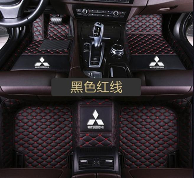 Adatto per Mitsubishi Outlander-tappetini auto impermeabile 2.007-20.201 lusso personalizzati