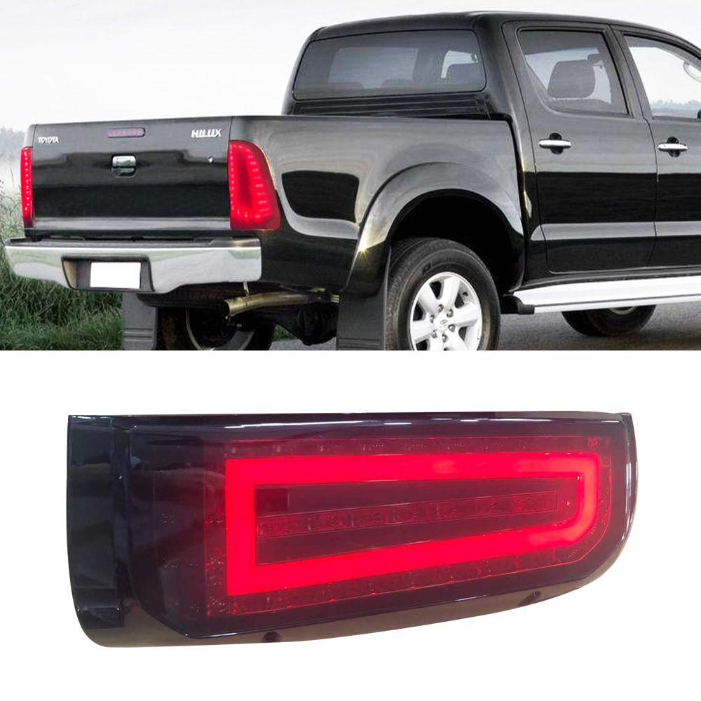 1 Par Led Luz Traseira Taillight traseiro Ligue lâmpada de sinal de aviso cauda Nevoeiro Lâmpada Luz Para TOYOTA HILUX VIGO Captura 2004-2015