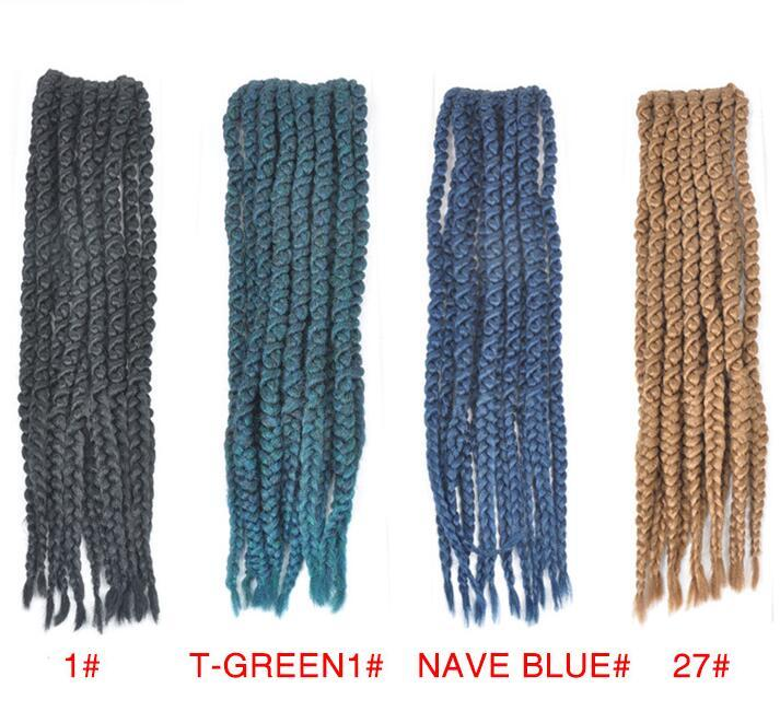 Free Shipping Crochet hair popular in Europe and America cross border factory wholesale fashion African hair lady dirty braid hair