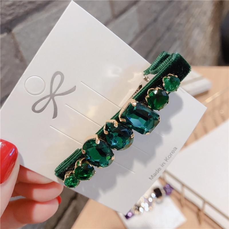 style coréen velours printemps côté Couvre-chef diamant de couleur femme canard clip clip accesseur cheveux coiffure étudiants diamant coiffure Accessoires