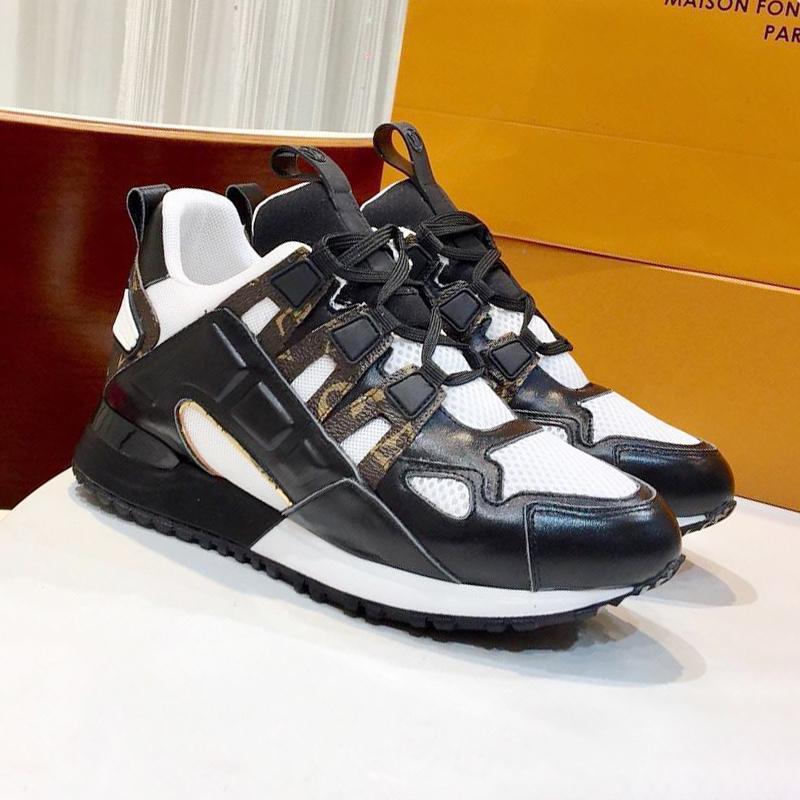 Womens Fashion Shoes Run Away Lace-Up traspirante Donne a piedi della scarpa da tennis di alta qualità delle scarpe da tennis di sport esterni di lusso Scarpe Da Donna