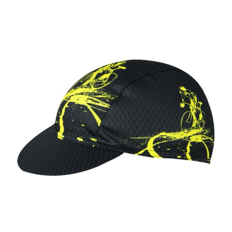 Small Cycling Cap Lightweight Breathable Sunshade Anti-sweat Polyester Under Helmet Hat Headwear for Bike Bicycle Riding