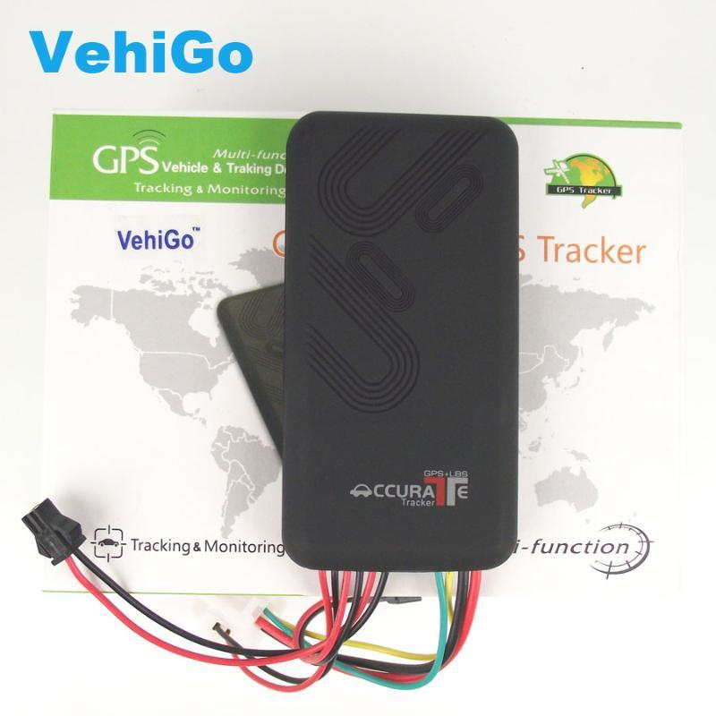 VehiGo GT06 GPS Tracker SMS GSM GPRS GPS Vehicle Tracking Device Monitor Locator Remote Control for Car Motorcycle Scooter