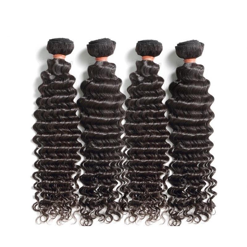 سيدة غاغا الملكة الشعر الماليزي العذراء الشعر موجة عميقة 4 حزم 400 جرام الكثير غير المجهزة ريمي الشعر البشري حزم اللون الطبيعي من مانح