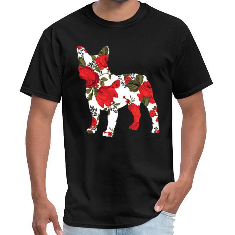 Printed Französisch Bulldog Roses Hemd satan T-Shirt der Frauen das Kind Mandalorian t Shirt plus Größen S-5XL Hip-Hop