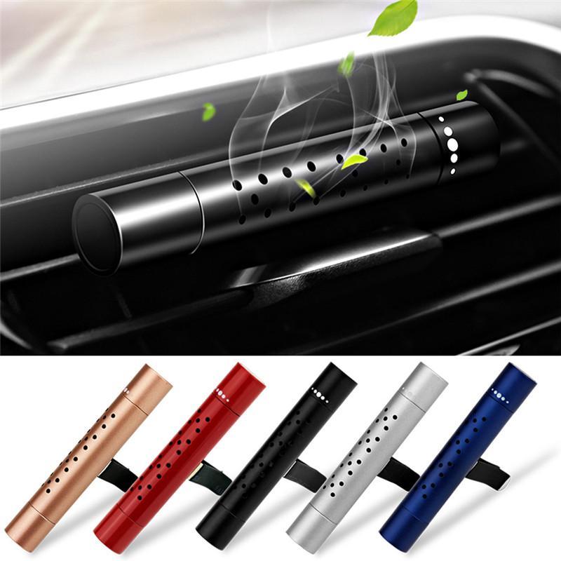자동차 공기 청정기 자동 콘센트 향수 자동차 에어컨 클립 자석 디퓨저 솔리드 향수에서 공기 청정기