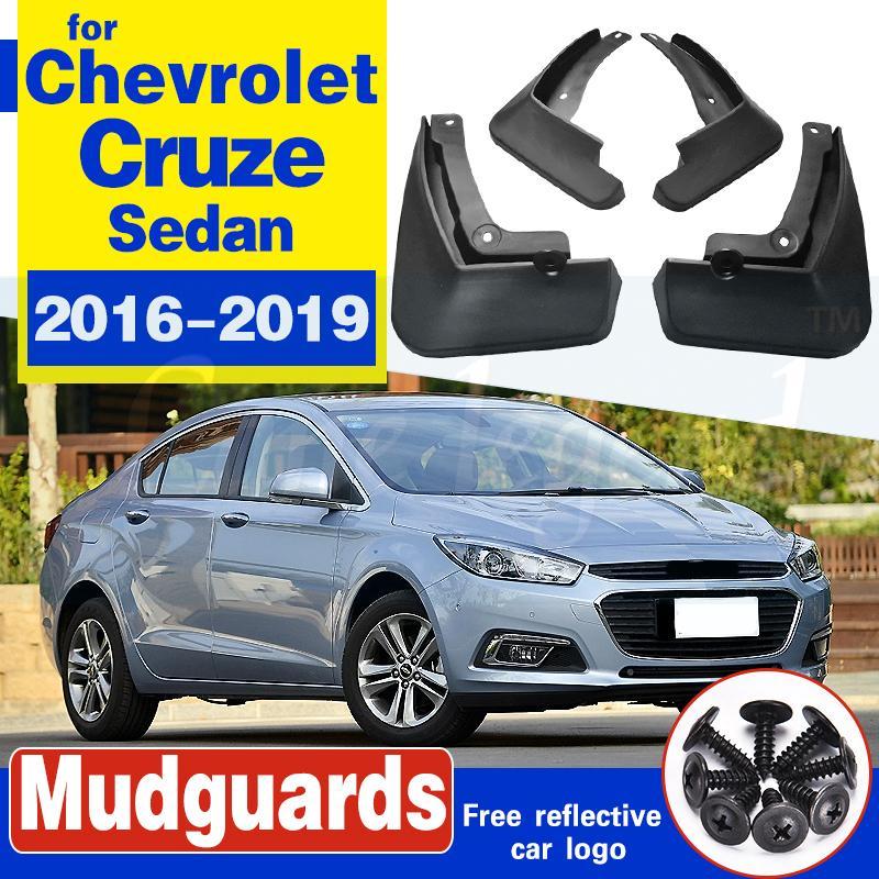 Vorne Hinten Auto-Schmutzfänger für Chevrolet Cruze Limousine 2016 2017 2018 2019 Fender Mud Flaps Guard Spritz Flap Radschützer Zubehör