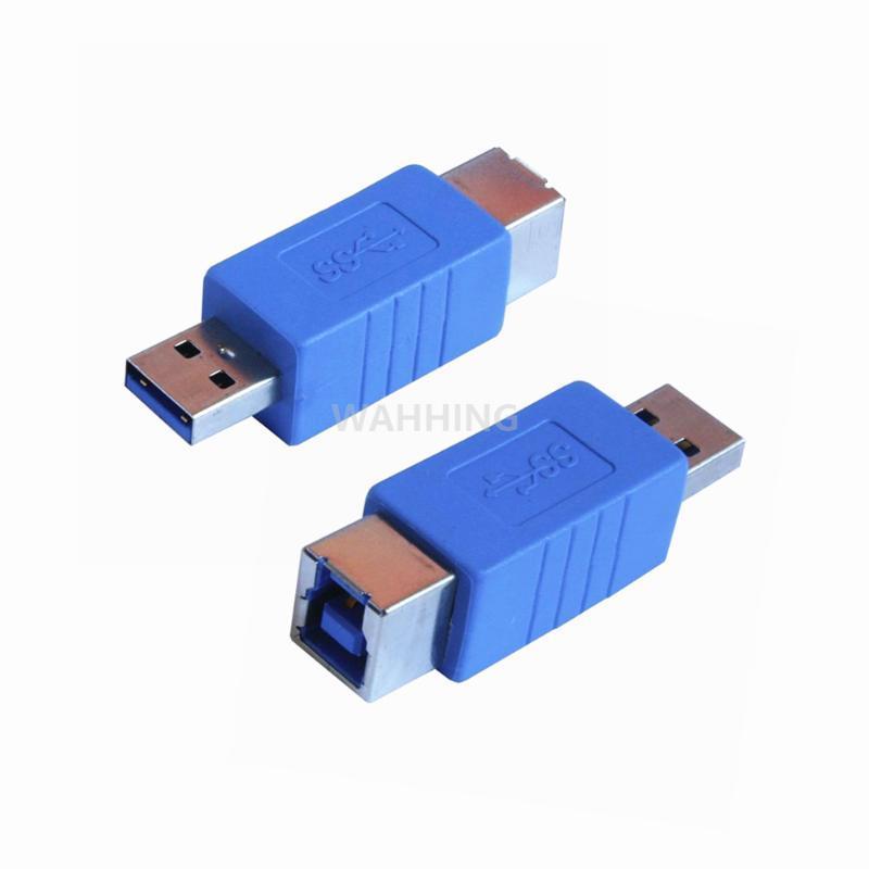 Новый USB 3.0 мужчина к USB B 3,0 B Женский Адаптер кабеля принтера сканера Extender Cable конвертер Connector HY1519