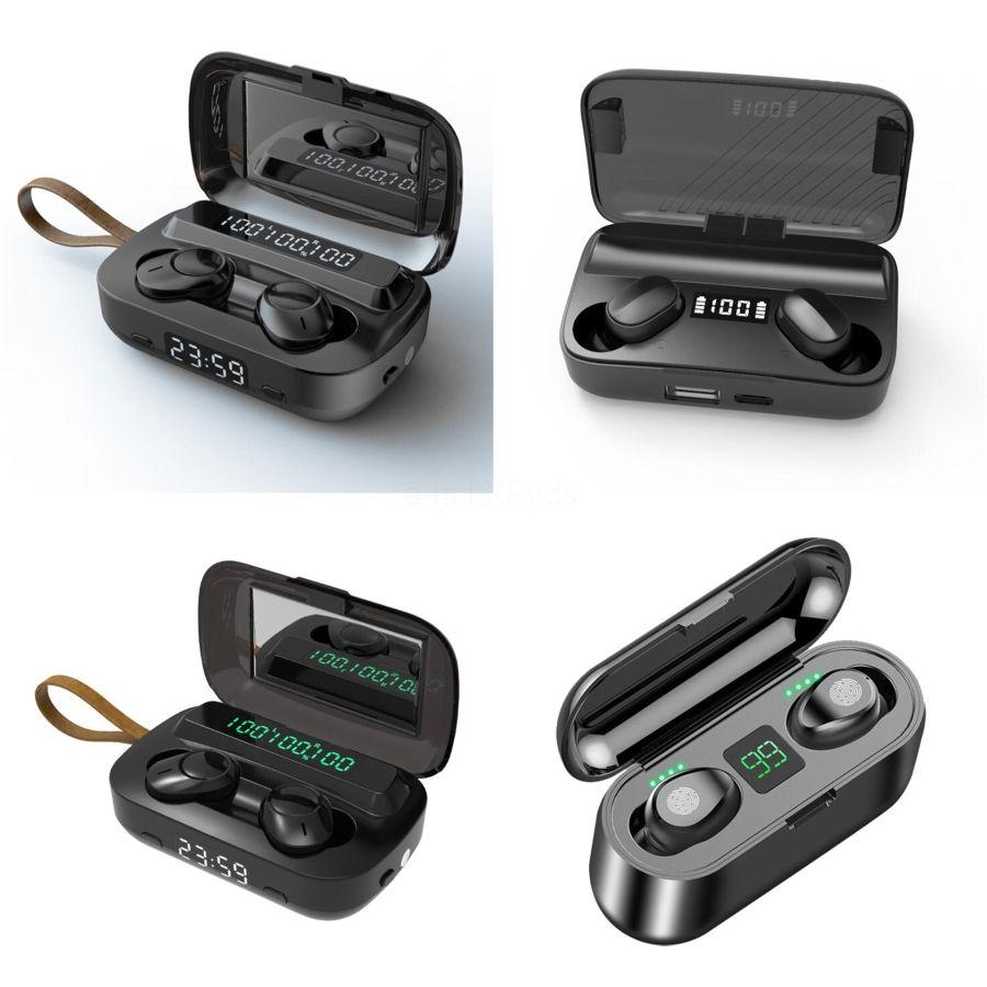 W1 viruta de carga inalámbrica Bluetooth Auricular automático de ventana emergente de auriculares en la oreja para I9S Earophone auriculares PK W1 viruta AP2 AP3 I # 710