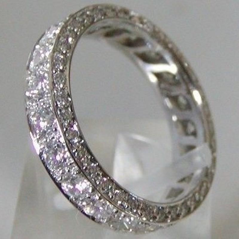 Bague de diamant promesse à la main 100% véritable S925 Sterling Sterling Engagement Bandes de mariage Bagues pour femmes Bridal Finger bijoux LJ200831