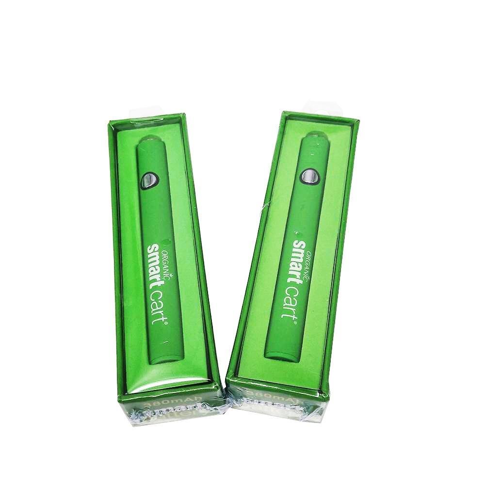 États-Unis vente chaude Smart Battery Préchauffer le stylo de Vape avec kit de chargeur Voltage de la tension variable filetage 3580MAH pour toutes les cartouches 510 cartouches