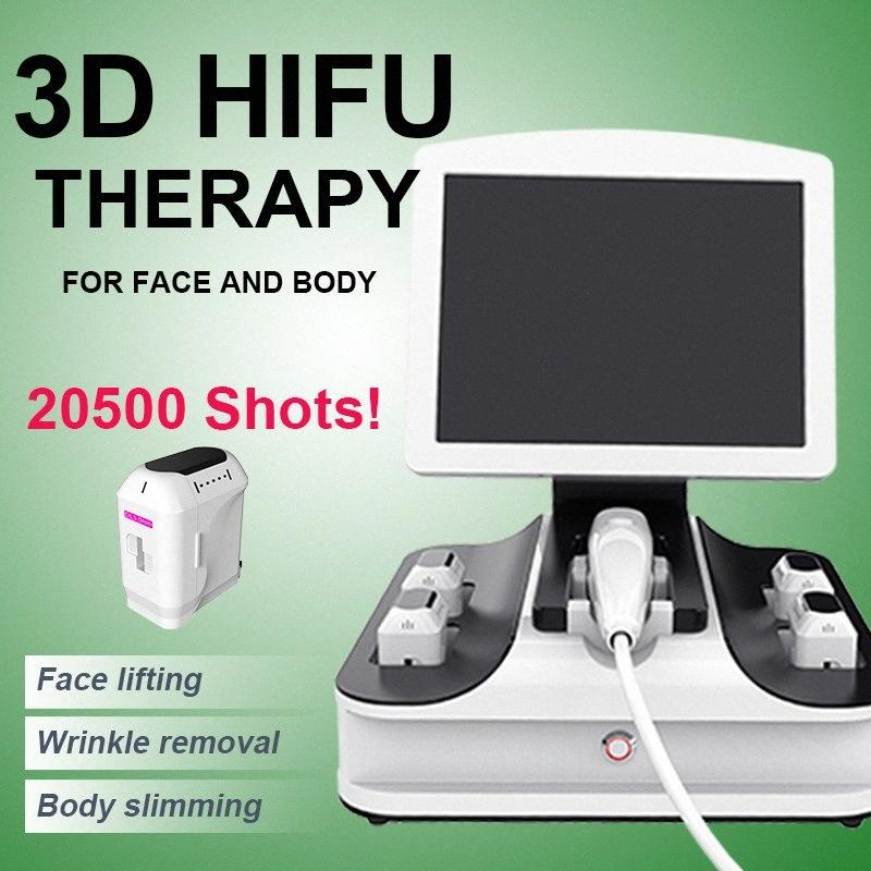 HIFU-Anti-Aging-Faltenentfernung mit hohen Intensität fokussiertem Ultraschall HIFU Gesicht heben, Körper schlank HIFU Schönheit Ausrüstung Lj1x #