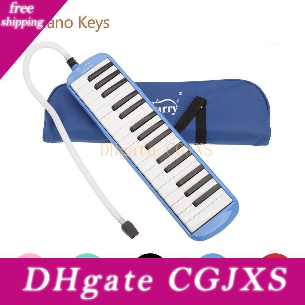 32 Ключ Melodica С Blowpipe Blow труба для студентов Гармоника Детские игрушки Музыкальные инструменты 5 цветов U Pick