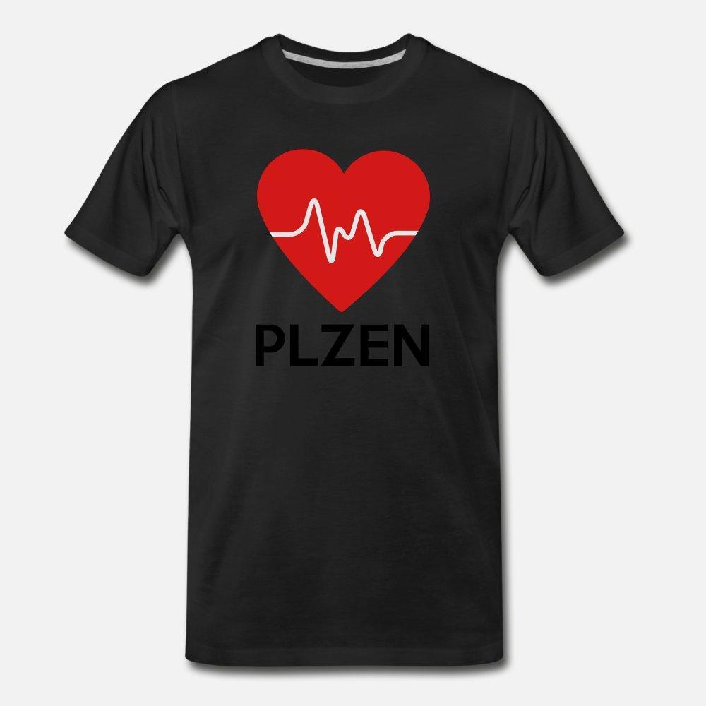 Coeur des hommes t Plzen shirt Personnalise coton S-XXXL Vêtements Intéressant New Style été Chemi Tendance