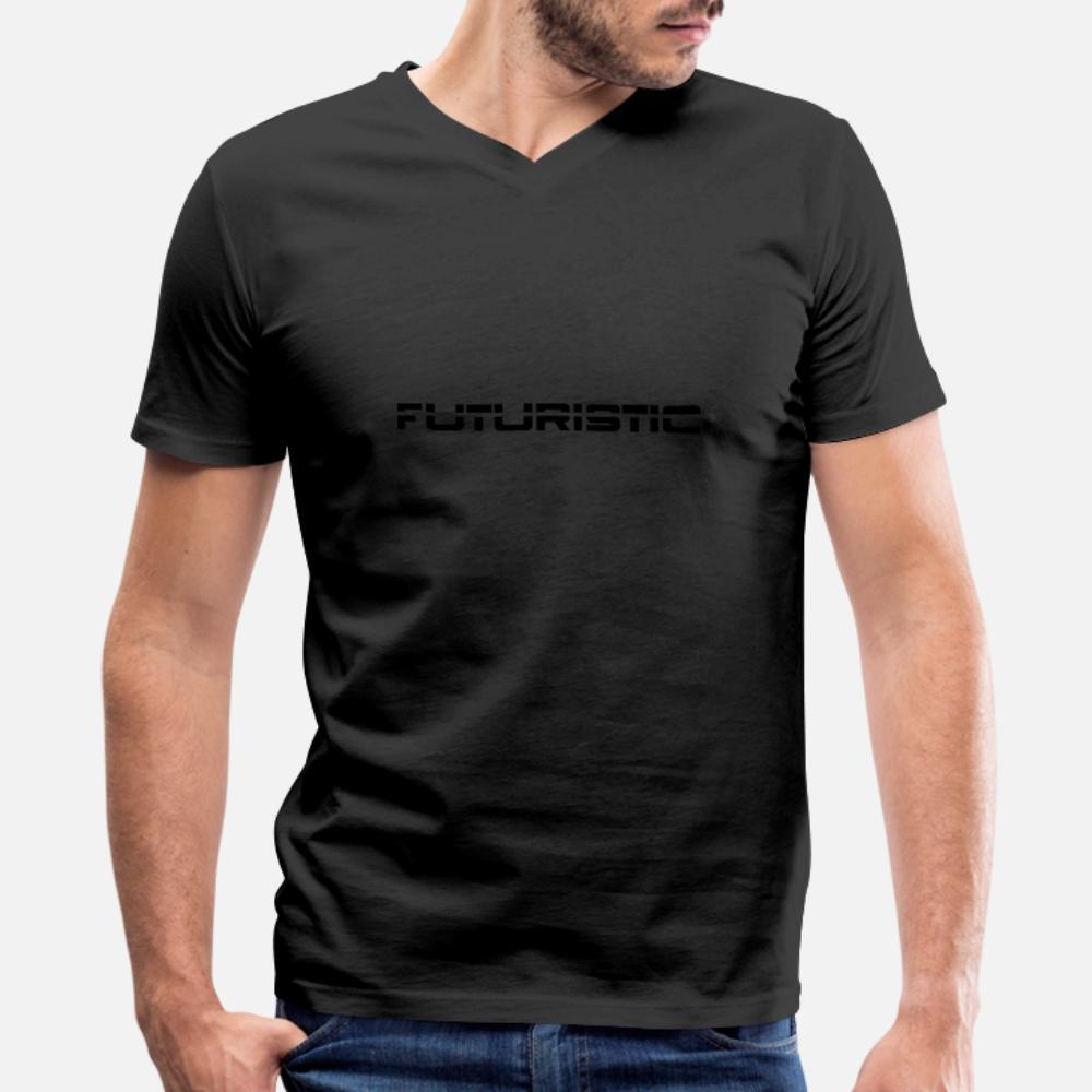 Футуристический т рубашки мужчин Заказные 100% хлопок S-XXXL подходит Известный Комфортный летний отдых рубашку