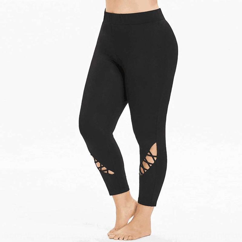 Женская сексуальная рубильник фитнес высокой талии спортивные брюки хип поднимешь L обрезается Chinos спортивные брюки