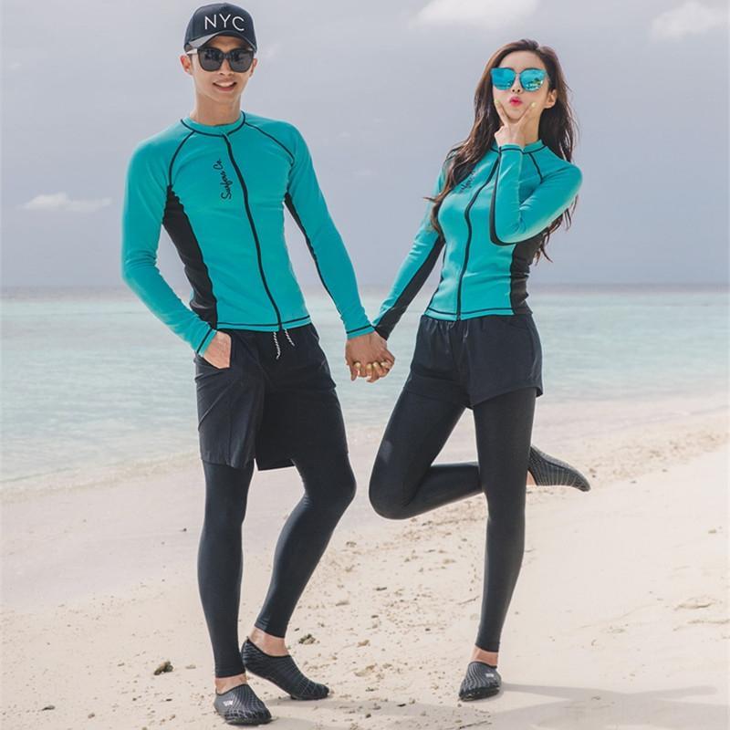 VBE5v Нового дайвинга Дайвинг брюки брюки для мужчин и женщин раскола пар медузы пальто серфинга снорклинг ВС доказательства купальника с длинными рукавами брюк