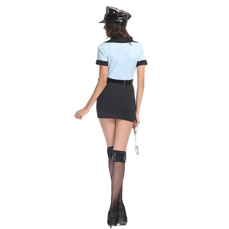 Amerikanische einteilige Polizistin Kleidung Cosplay Halloween Uniform amerikanisches einteiliges Polizistin Kostüm Kleidung Cosplay Kostüm Halloween
