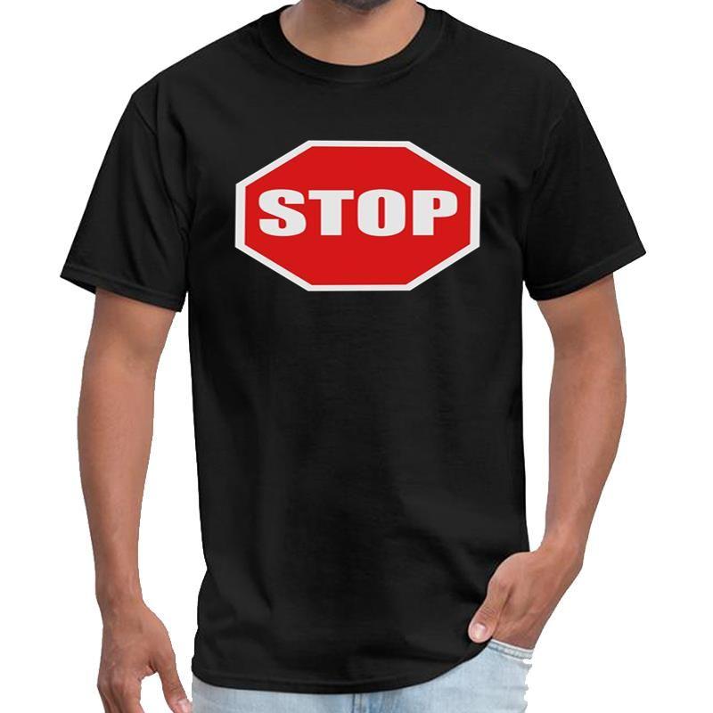 Bir dur işareti t gömlek anime kadın stephen king t shirt artı boyutları s-5XL tee top tasarlama