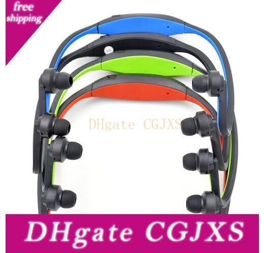 Cuffia stereo S9 auricolare senza fili dell'altoparlante di sport di Bluetooth Neckband auricolare Bluetooth 4 .0 con Package 20 pezzi fino Dhl