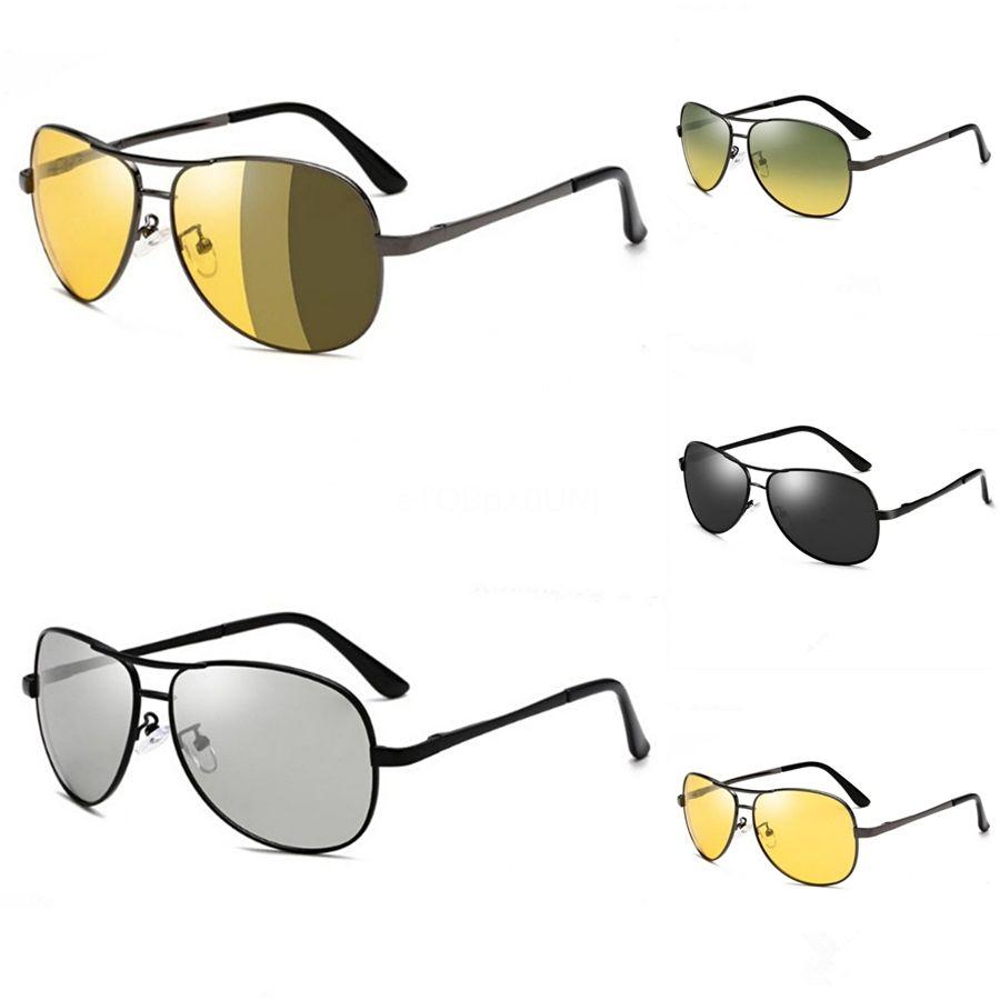 VIAHDA Diseño polarizadas gafas de sol de los hombres de conducción HD Sombras Hombre retro Gafas de sol para los hombres verano Espejo cuadrado Oculos # 301