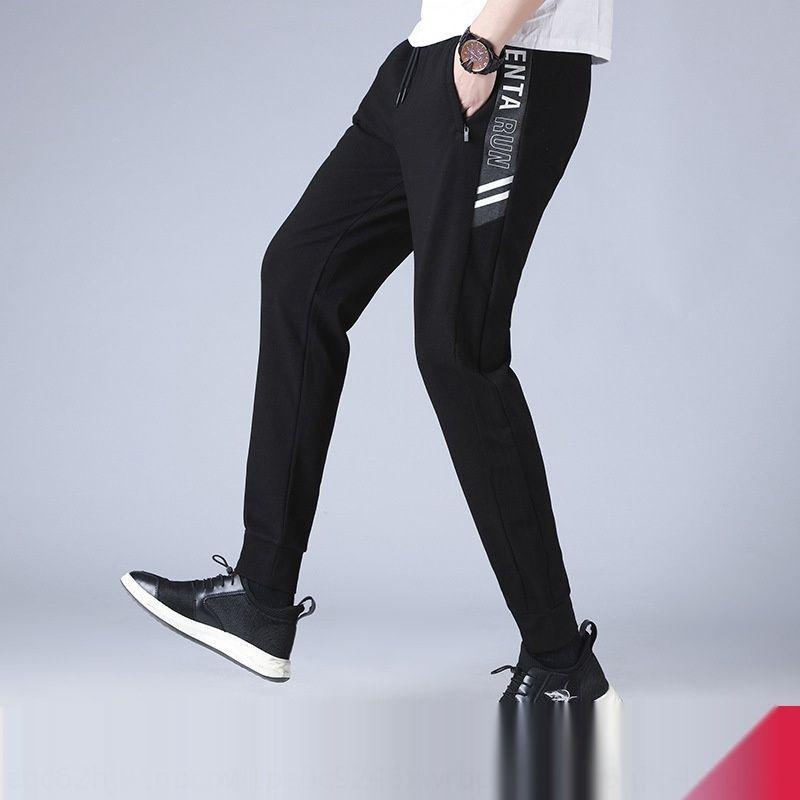 Re2eX esteso uomini di primavera casual e l'autunno 120cm vita alta pantssports elastico lungo della gamba pantspants pantaloni alti casuali di sport degli uomini alla moda esimo
