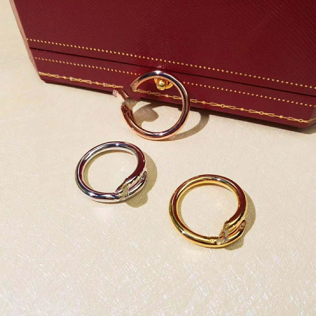 골드 로즈 골드 실버 다이아몬드와 여성 아름다운 보석 티타늄 스틸 링 여성 패션 하이 엔드 품질