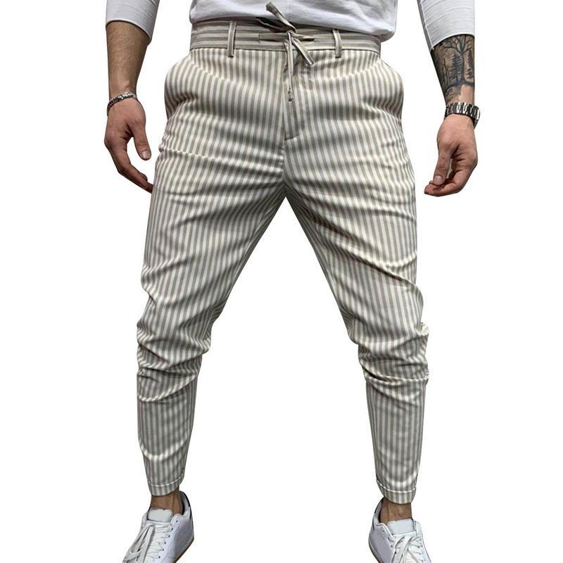 الرجال السراويل عارضة 2021 رجل الشارع الشهير الحريم ترايم القيعان نحيل sweatpants سراويل اسود صالات رياضية عداء ببطء المسار