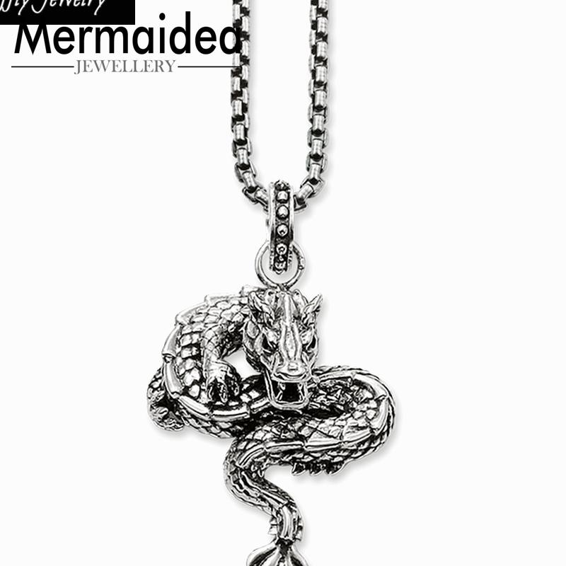 Drago del partito collana pendente stile Cool Fashion Buon monili delle donne 2020 da regalo in argento placcato gli affari eccellenti