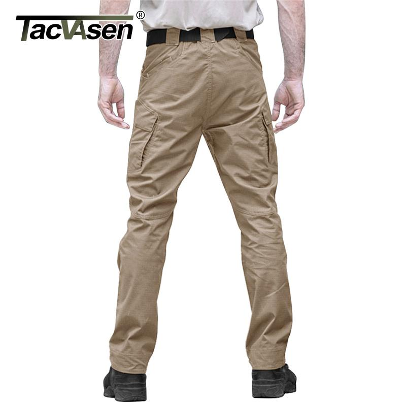 TACVASEN T/áctico Militar Pantalones Softshell Hombres Impermeable Al Aire Libre Pantal/ón