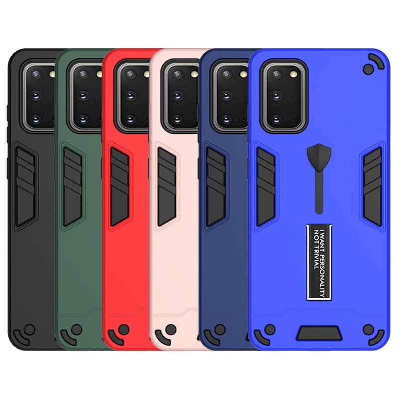 Caja de la armadura robusta para la nota 20 Nota 10 Pro 5G prueba de golpes casos de teléfono para Samsung S20 Plus A70 A50 A40 A10 A20S