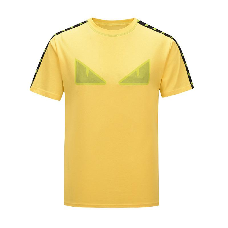 2020 Luxury Logo Europa França Vetements For Rent Voltar Big T-shirt Mens Fashion Designer camisetas femininas roupas casuais T Cotton