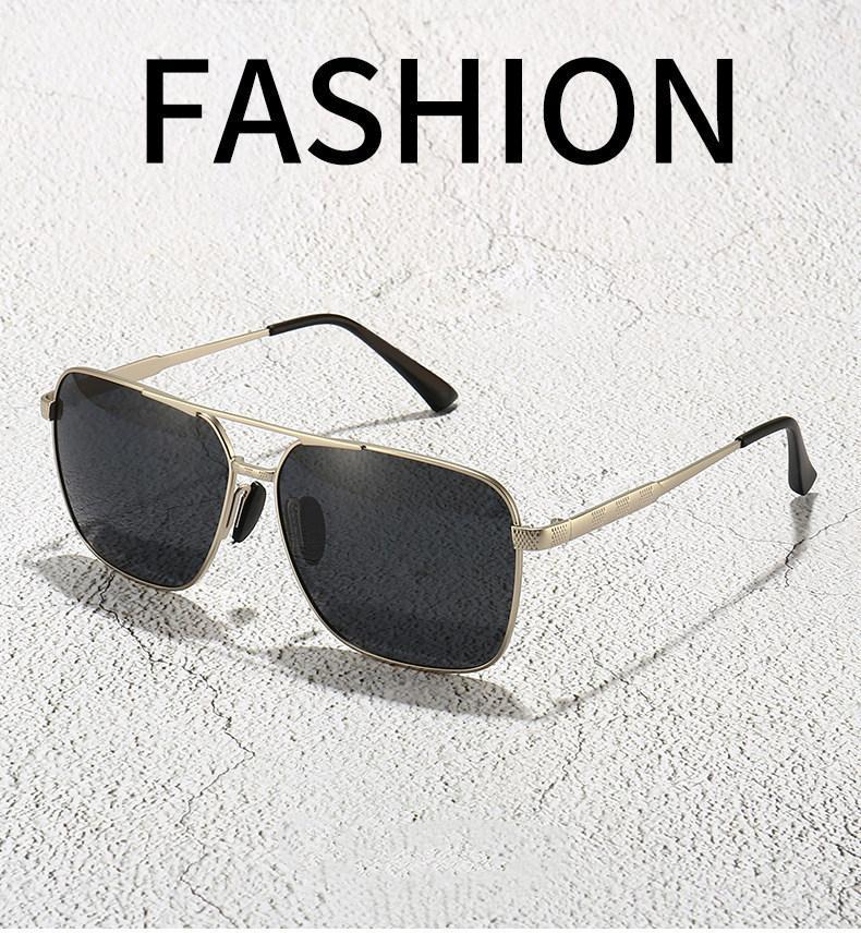 Polarizada jóias de metal óculos de sol sapo Espelho 2020 do quadro de Moda de Nova Big clássico viajante de alta qualidade do feriado Outing Full Set Box