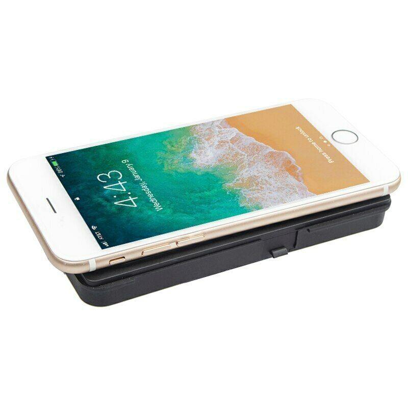 10Вт QI автомобиля Беспроводное зарядное устройство беспроводной телефон Зарядка для Hyundai Ioniq 2016-2020 гг