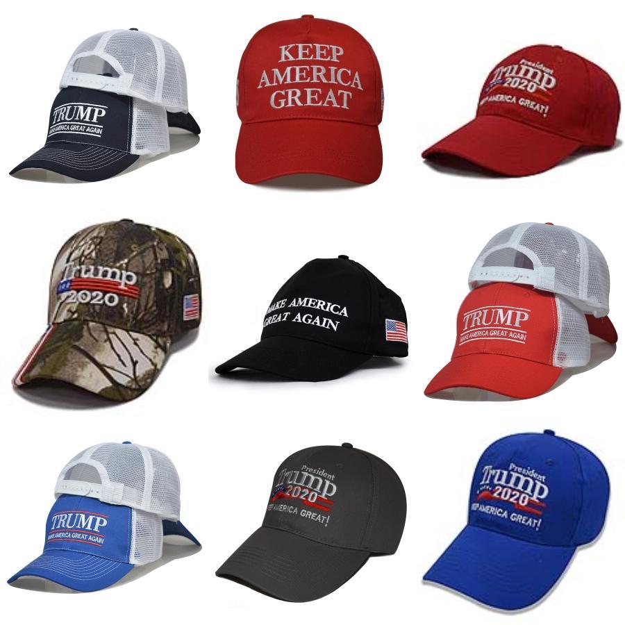 США со Trump Cap Keep America Great снова Snapback президент президент Hat Вышивка Trump 2020 Baseball CapShipping # 906