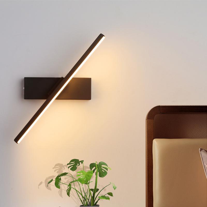 Lampada da parete LED LED Personalità Camera da letto Camera da letto NordIC Modern Minimalista Creativo Stair Stair Aisle Living Rounds