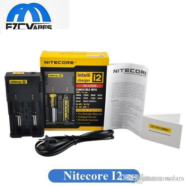 16340/18650/14500/26650 배터리 US US EU AU UK 플러그 2에서 Best Selling Nitecore I2 Universal Charger 1 Intellicharger 배터리 충전기