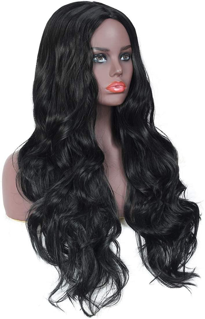 Neueste 4X4 Lace Closure / Gefälschte Scalp Perücken Pre Zupforchester Körper-Wellen-Menschenhaar-Perücken 24 Zoll Perücke 150% Dichte Remy Haar
