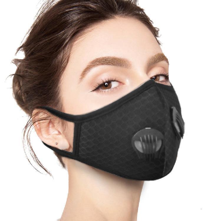 Spor Yüz Maskesi Çalıştırmak için Malzeme Pm 2.5 Değiştirilebilir Aktif Karbon Kirliliği Duman Açık Hava Filtresi