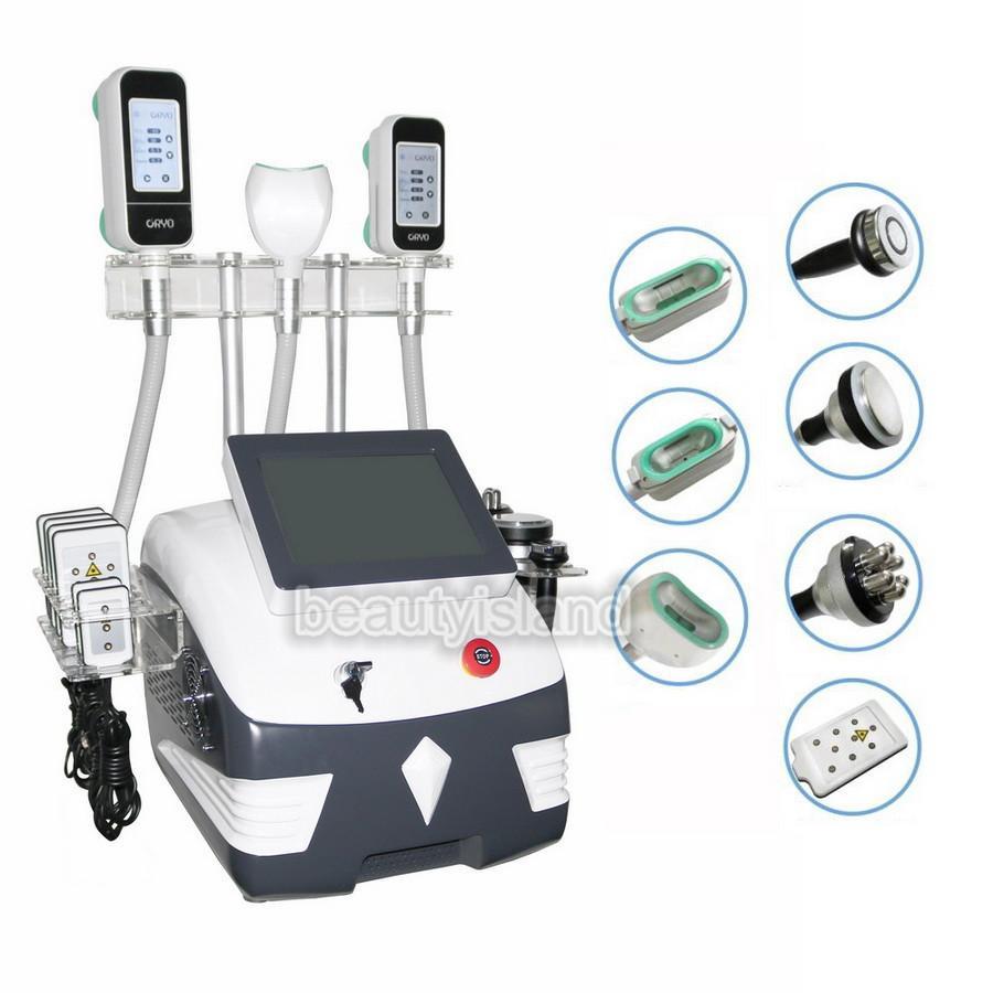 다기능 캐비테이션 RF 시원한 몸 조각 650nm Lipolaser Cavitation RF와 슬리밍 기계 냉동
