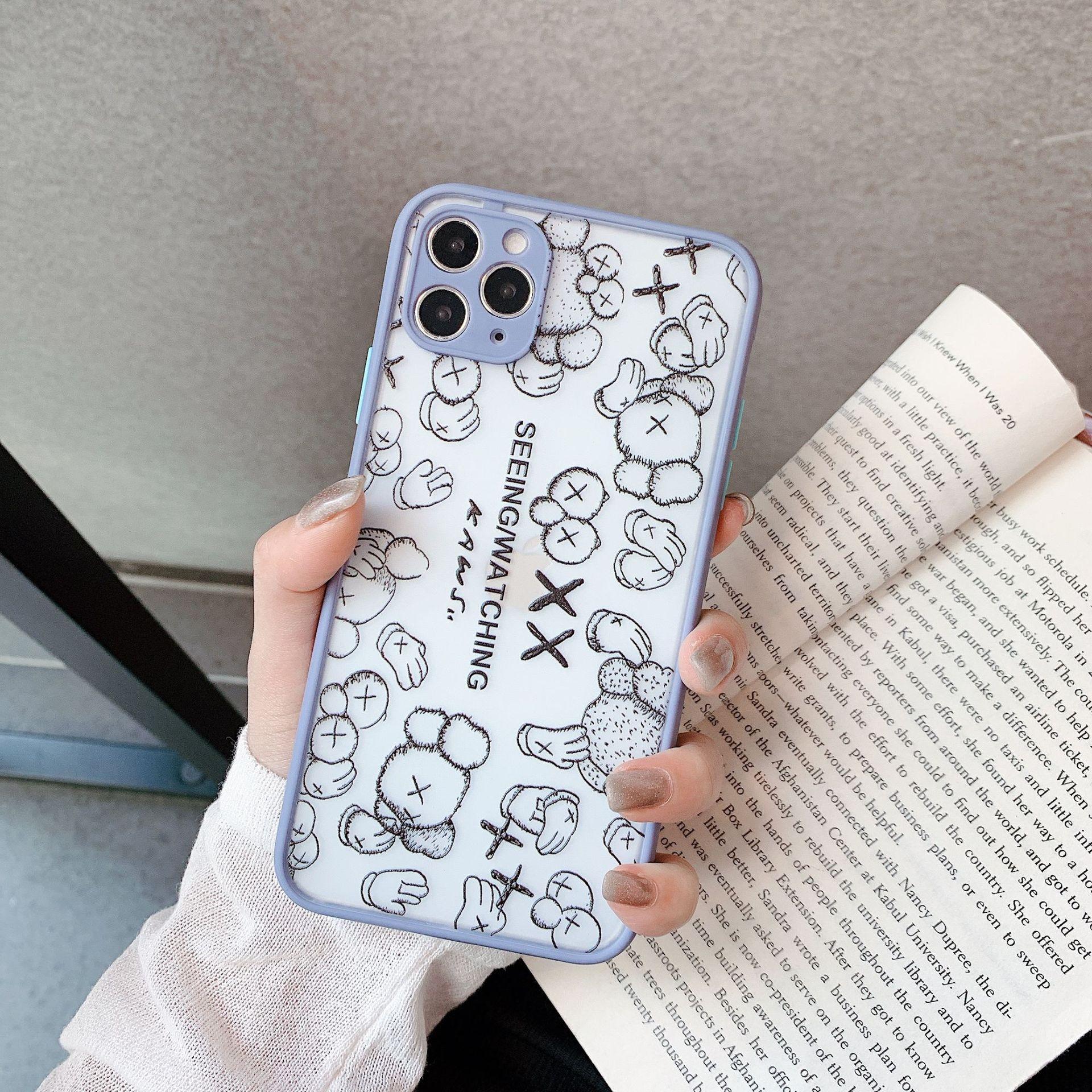 Luxus-Designer Brief iPhone Case für iPhone 11 Pro Max XS Max XR 7 8 Plus Umhängetasche Arttelefonkasten