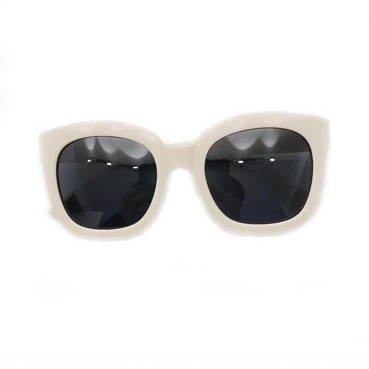 Корейские квадратные толстые ВС рамы ВС бежевых поляризованный модные солнцезащитные очки женских круглых лица большие каркасные очки