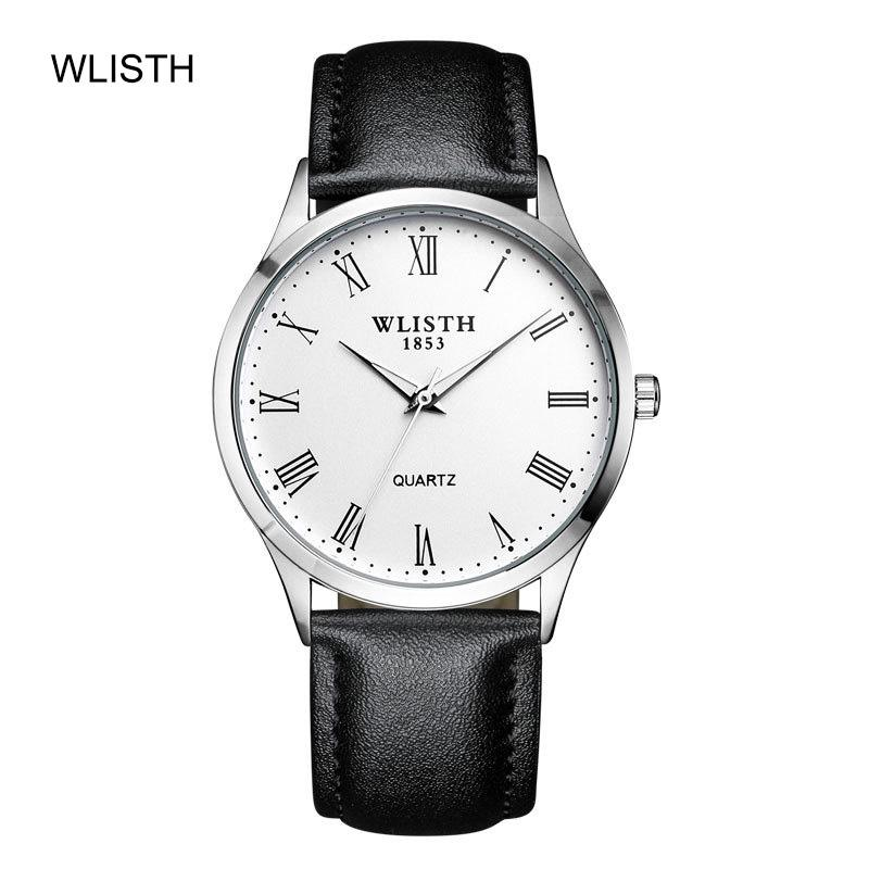 Freizeit Einfache Männer Uhren mit Stahlband Mode Leuchtende wasserdichte Persönlichkeit Quarz Skin Band Business männer Uhren