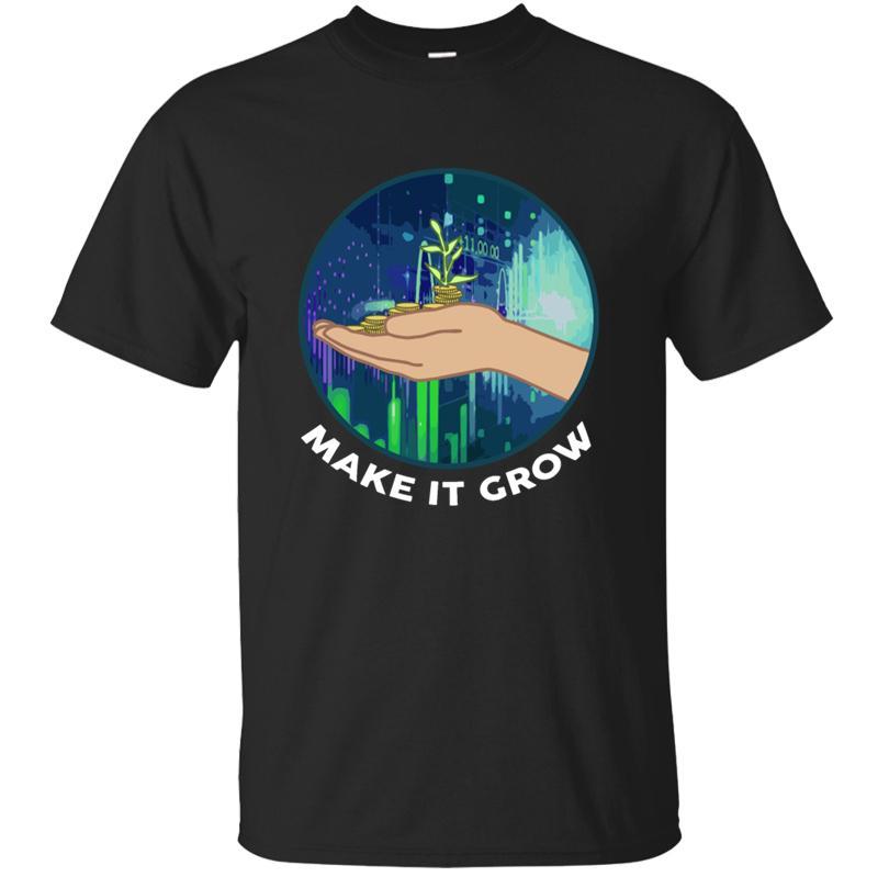 Popüler Baskı Ticaret Lover Para Doller Yuvarlak Yaka Bull Ayı Tişört Erkek 2020 Kawaii Ordusu Yeşil Tee Gömlek Hediye Sevimli kızakları