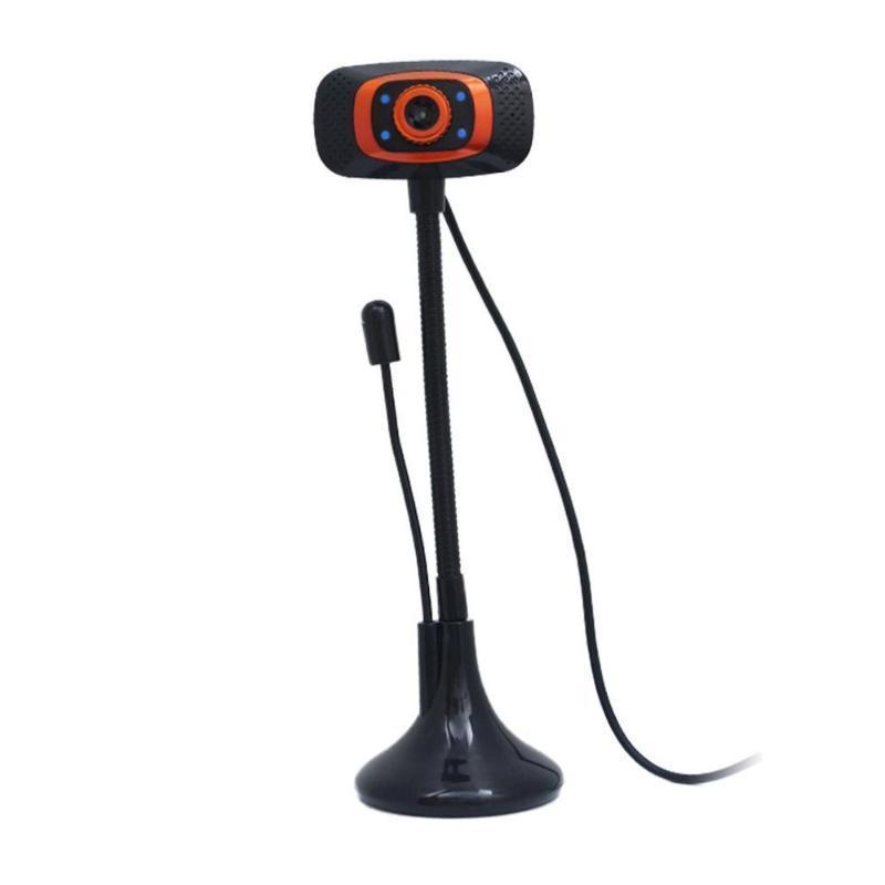 Usb câmera webcam com microfone para desktop Laptop Pc Computador USB 2.0 Camera Drive-livre carro Live Video Cam