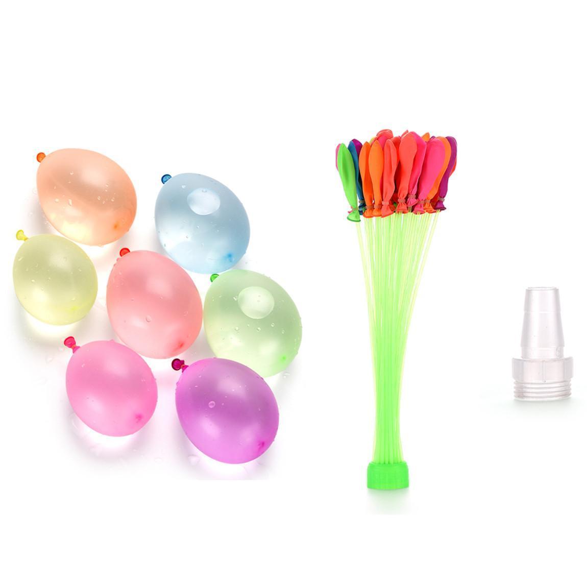 111Psc eau coloré rempli Ballons d'été pour enfants Garden Party plein air jouer dans les jeux aquatiques pour les enfants Jouets rapide Facile de remplissage d'eau 02