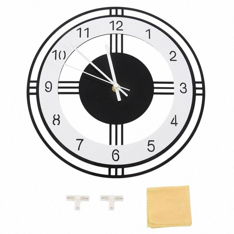 Silent Large Wall Clock Modern Design Battery Operated Quartz Hanging Clocks Home Decor Kitchen Watch Ey6r Contemporary Clocks Contemporary Clocks Wall From Majiu02 20 9 Dhgate Com